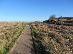 Cley Marhses footpath