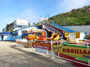 Cromer beach amusements