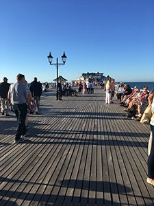 Cromer Pier before the theatre