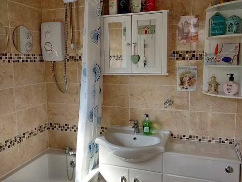 The bathroom at Dawn in Hemsby