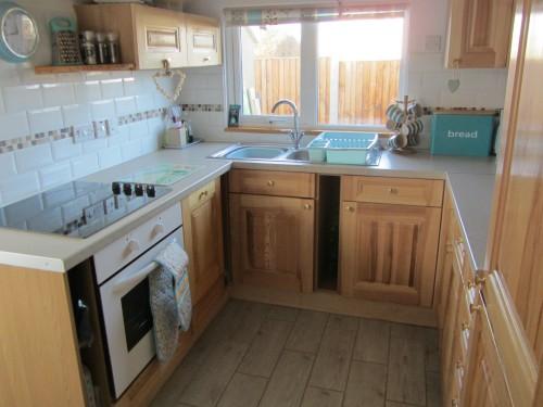 The kitchen at Dawn, Hemsby