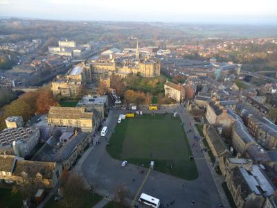 Durham Cathedral across to the castle