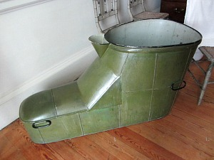The slipper bath