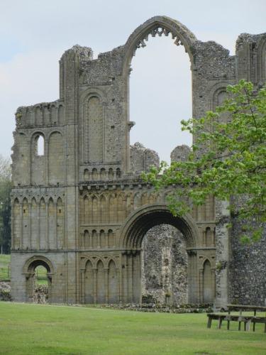 Castle Acre Priory Exterior Remains