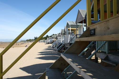 Well beach huts