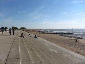 Heacham beach promenade