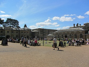 The courtyard at Holkham