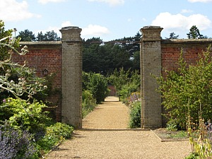 The splendour of the Walled Garden at Holkham