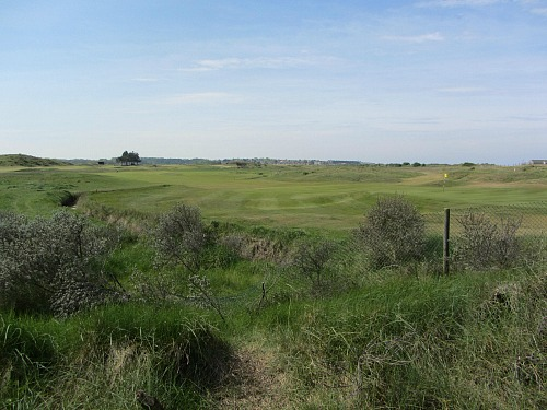 The Golf Course overlooking Holme Beach, Norfolk