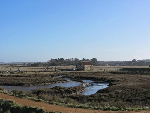 The boathouse at Thornham