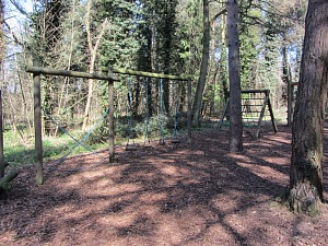 A large play area at Holt Country Park