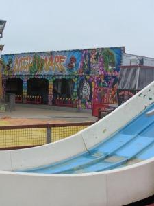 Fun fair amusements at Hunstanton beach