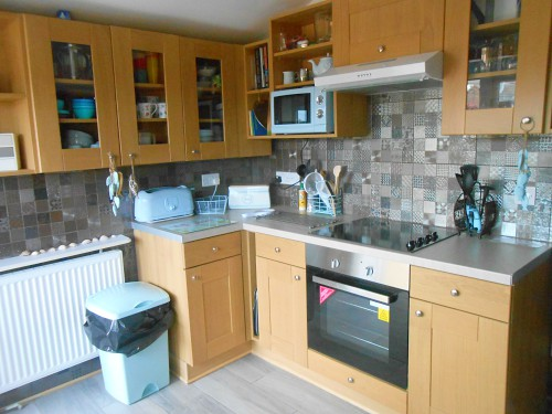 The kitchen at Kingsley Cottage