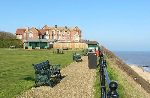Manor Hotel overlooking the sea