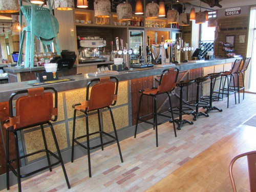 The bar area at Norfolk Woods
