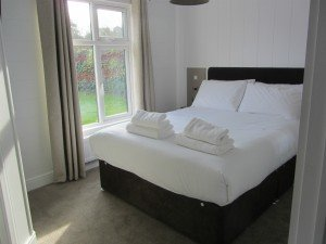 A double bedroom with ensuite bathroom