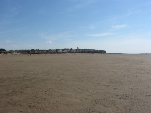 Empty space at Old Hunstanton