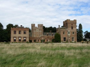 Oxburgh Hall from Home Covert Walk