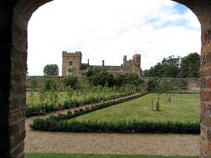 Oxburgh Hall orchard