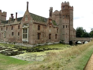Oxburgh Hall entrance