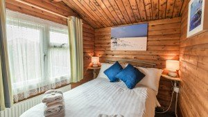 The double bedroom in Pine Lodge