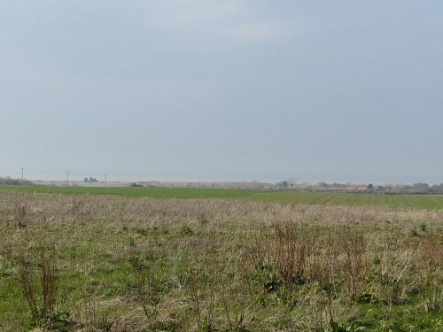 The view towards the sea at Holme-next-the-Sea