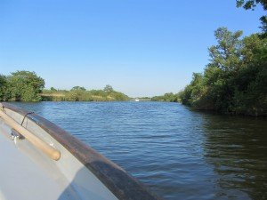 The wider River Bure