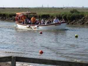 Seal trips by boat in North Norfolk