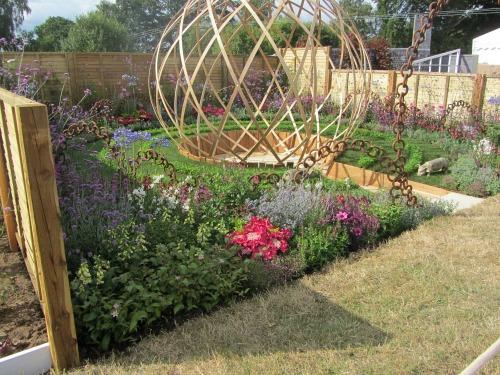 Sandringham Flower Show Garden Designs