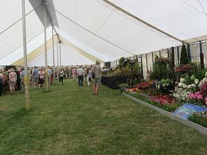 Horticultural exhibits at Sandringham Flower Show