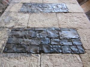 Stonework at St Benet's Abbey