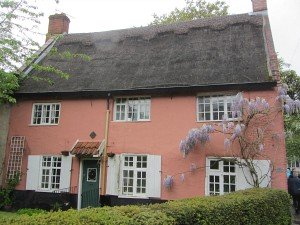 One of the remaining 6 thatched houses in Norwich