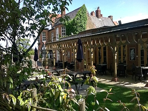 The very relaxed Lodge Inn, Old Hunstanton
