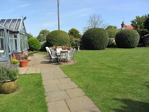 Titchwell Manor Walled Garden