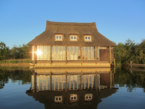 Ranworth Broad Floating Visitors Centre