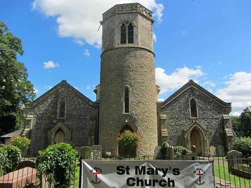 Norfolk's Norman round tower churches