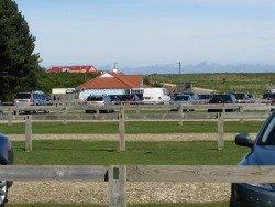 Wells beach car park and cafe