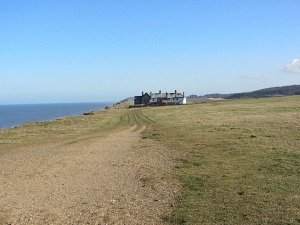 The cliff walk to Sheringham from Weybourne