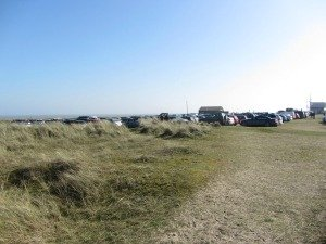 Winterton Beach car park